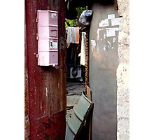 Hutong Doorway, Beijing, China Photographic Print