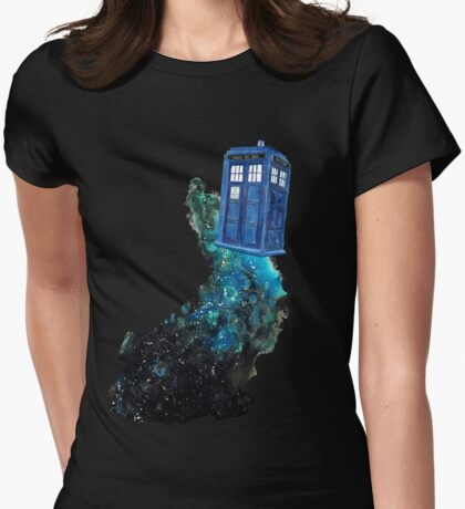 All of Time and Space v.2 Womens Fitted T-Shirt
