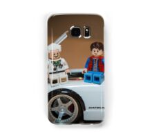 Doc and Marty on a Z Samsung Galaxy Case/Skin