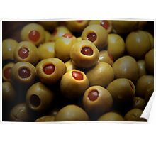 stuffed olives Poster