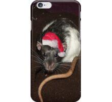 Christmas Dumbo rat iPhone Case/Skin