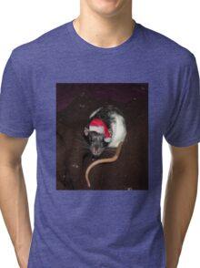 Christmas Dumbo rat Tri-blend T-Shirt