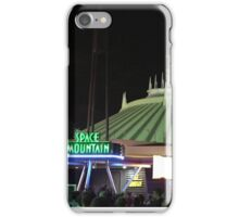 Space Mountain at night! iPhone Case/Skin