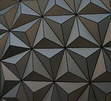Walt Disney World Epcot Spaceship Earth by chewi