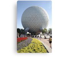 Walt Disney World Epcot Spaceship Earth Canvas Print