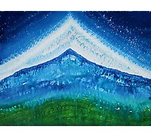 Upper World original painting Photographic Print