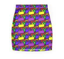 Brickwork Mini Skirt