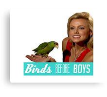 Birds Before Boys Canvas Print
