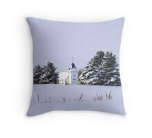 The Chapel ! Throw Pillow