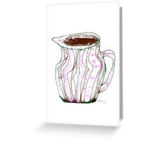 Pitcher Greeting Card