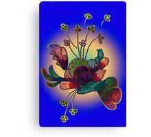 Stylized flora Canvas Print