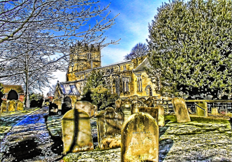 The Parish Church - Easingwold,North Yorkshire by Trevor Kersley
