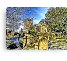 The Parish Church - Easingwold,North Yorkshire Canvas Print