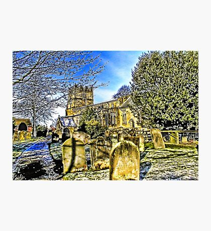 The Parish Church - Easingwold,North Yorkshire Photographic Print