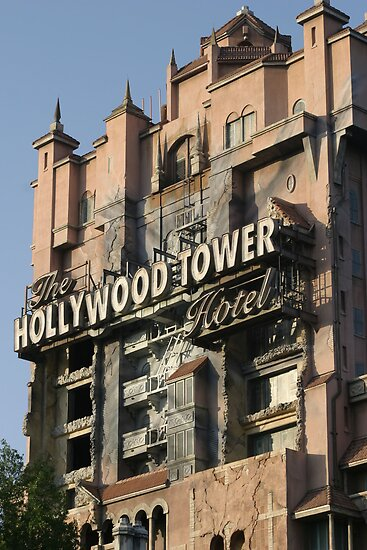 WDW Hollywood Studios Tower of Terror by chewi