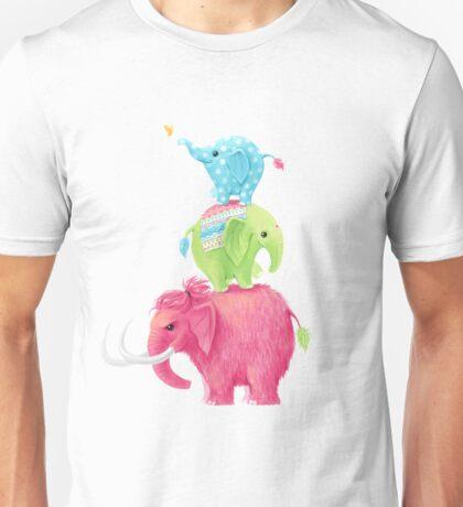 Elephants Unisex T-Shirt