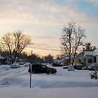 Suburban Winter 2011 by Jeff Stroud