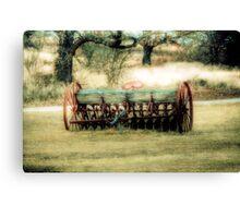 Old Farm Equipment - Springtown Texas Canvas Print