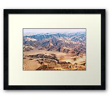 google desert Framed Print