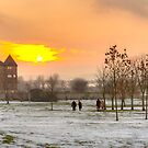 Winter landscape, Rochester, Kent by physiognomic