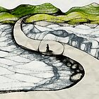 The Road Less Traveled (Scribbler exp 3) by Caroline Roberti