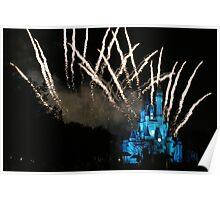 WDW Magic Kingdom Castle Poster