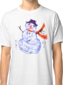 Scribbler Snowman.Tee Classic T-Shirt