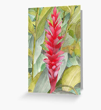 Hawaiian Beauty Greeting Card