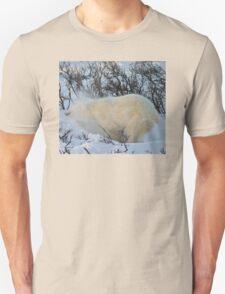 Yoga Bear shake snow Unisex T-Shirt
