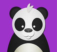 Peekaboo Panda by Steven Isaac Wood
