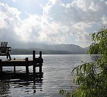 Toxaway lake View by MelittaP