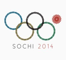 Olympic Ring Fail — 2014 Sochi Winter Olympics One Piece - Short Sleeve