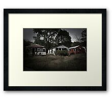 Rocky Point Amusement Park Framed Print