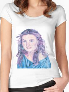 Idina Menzel Women's Fitted Scoop T-Shirt