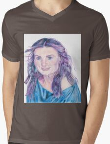 Idina Menzel Mens V-Neck T-Shirt