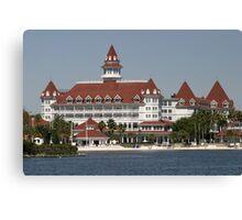 Walt Disney World Grand Floridian Hotel Canvas Print