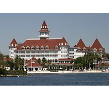 Walt Disney World Grand Floridian Hotel Photographic Print