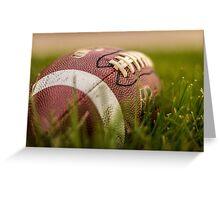 Just Do It - Football Greeting Card