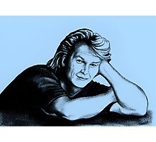 Patrick Swayze : just taking a break Photographic Print