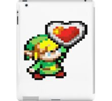 You got a heart container! iPad Case/Skin
