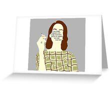 Lana Hero Greeting Card