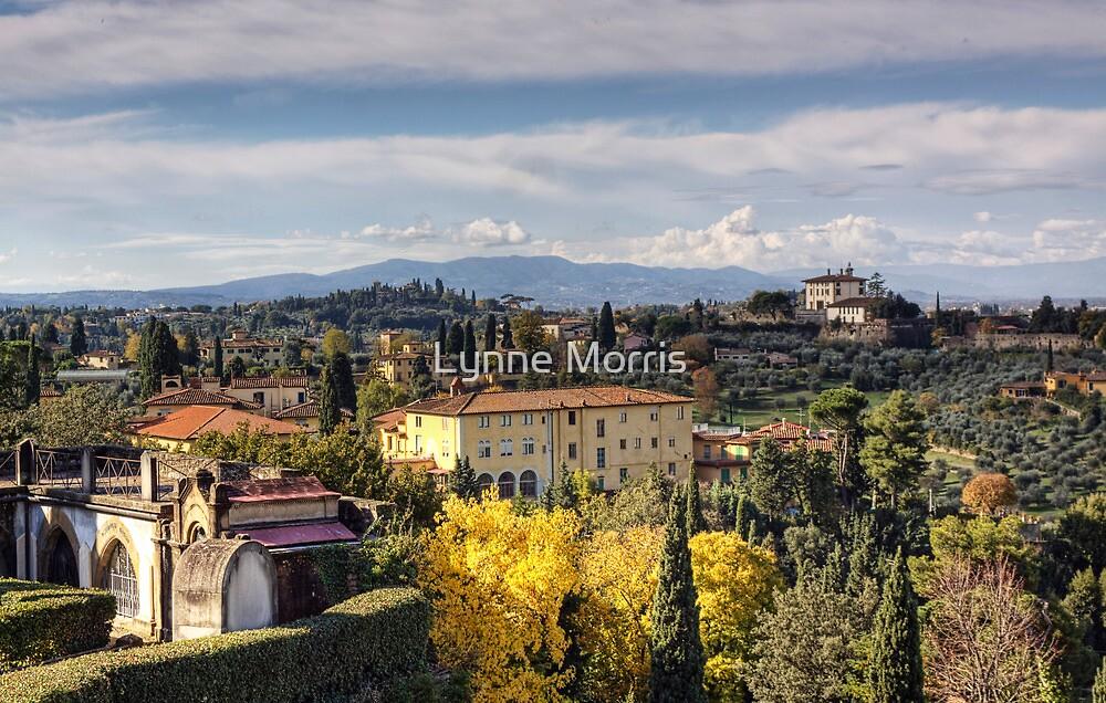 A Tuscan View by Lynne Morris