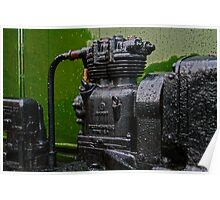 Old Engine Poster