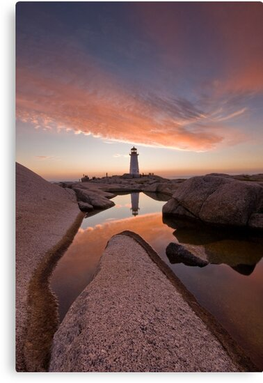 Peggy's Cove Rockpool by NovaScOcean
