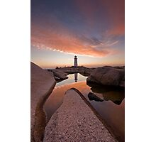 Peggy's Cove Rockpool Photographic Print