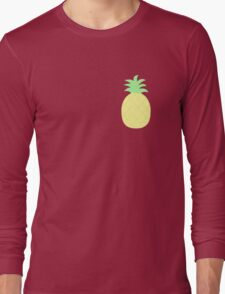 Pinapple Pattern Long Sleeve T-Shirt