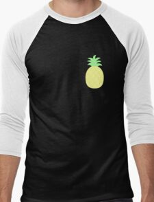 Pinapple Pattern Men's Baseball ¾ T-Shirt