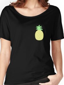 Pinapple Pattern Women's Relaxed Fit T-Shirt