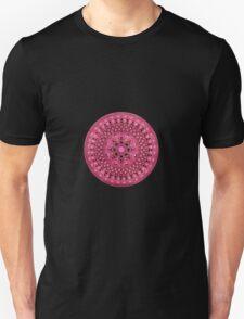 Hand Drawn Pretty Pink Mandala  T-Shirt