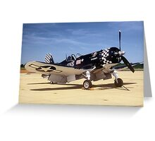 Vought F-4U Greeting Card
